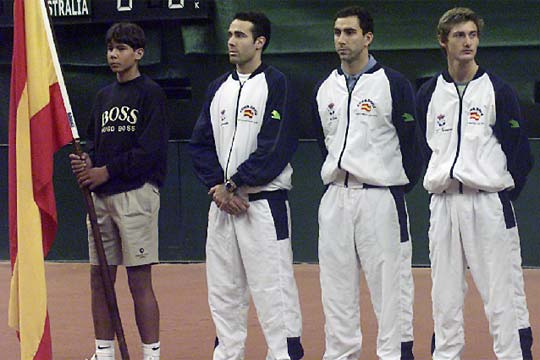 ¿Cuánto mide Rafa Nadal? - Real height Nadal_1