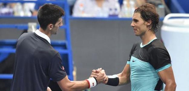 Djokovic y Nadal.
