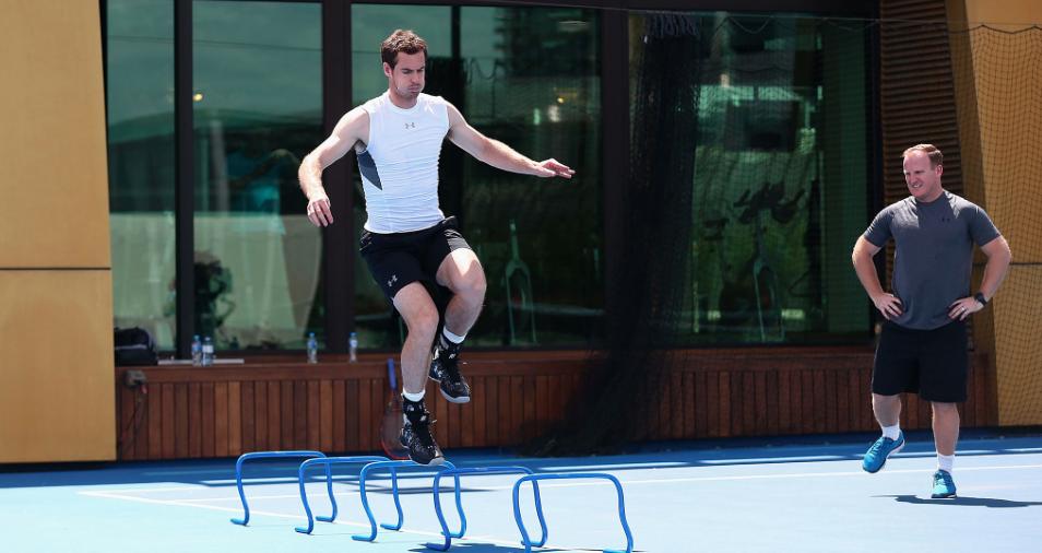 Murray entrenando - Melbourne