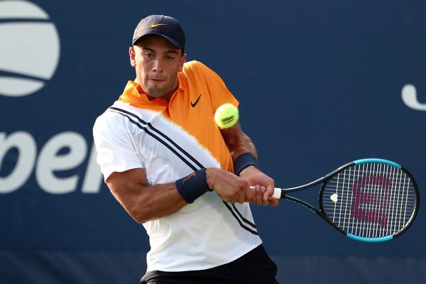 3a8d050bba Borna Coric logró el acceso a los octavos de final de un Grand Slam por  primera vez en su carrera