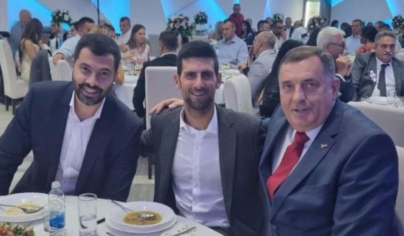 Image El polémico viaje de Djokovic a Bosnia y Herzegovina