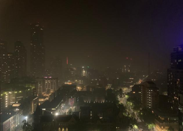 Asi Es El Aire En Melbourne A Una Semana De Que Comience El