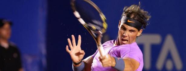 Rafael Nadal en competici?n. Foto: lainformacion.com