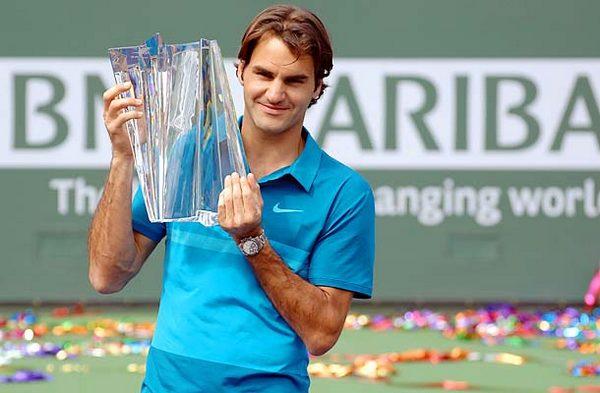 Federer aspira a ganar su quinto Indian Wells.
