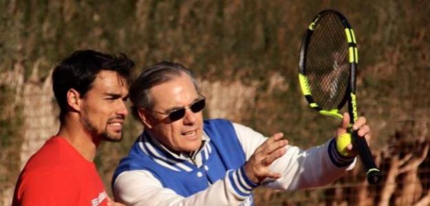 José Perlas y Fabio Fognini