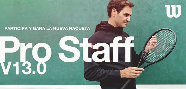 Sorteo raqueta Wilson Pro Staff