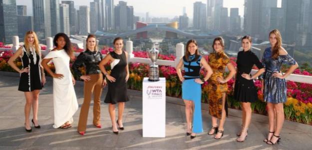 La ganadora de las WTA Finals se llevará el mayor premio de la historia del tenis. Foto: WTA
