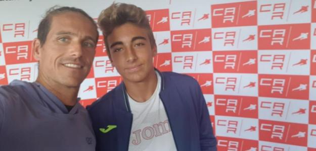Rubén Ramírez Hidalgo junto a Dani Mérida. Fuente: RRH