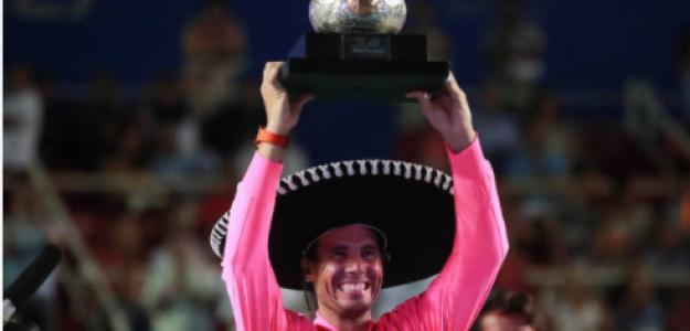 Rafael Nadal en Acapulco. Fuente: Getty