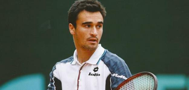 Alberto Berasategui en su etapa como jugador. Fuente: Getty
