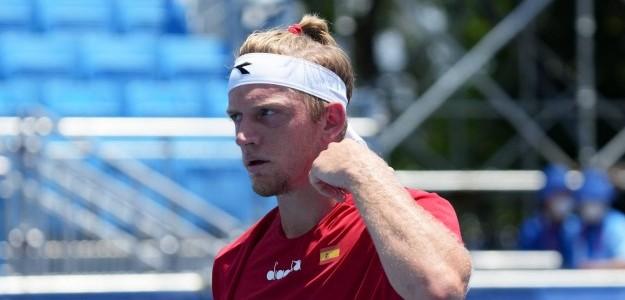 Davidovich quiere dar la campanada ante Nole. Foto: Tenis Olímpico