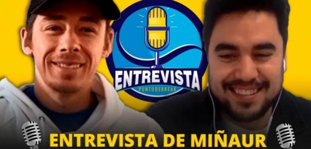 Entrevista de Fernando Murciego con Alex De Miñaur. Fuente: PDB