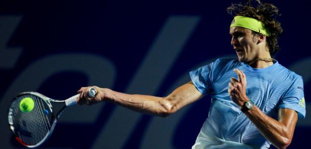 Alexander Zverev en ATP 500 Acapulco 2019. Foto: zimbio