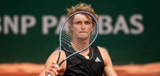 Zverev está en la R3 de Roland Garros. Foto: Getty