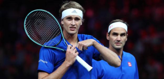 Federer y su agencia de representación salen al auxilio de Zverev. Foto: Getty