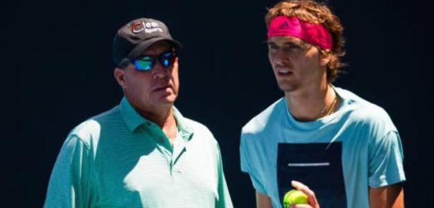 Se acabó la relación entre Zverev y Lendl. Foto: Getty