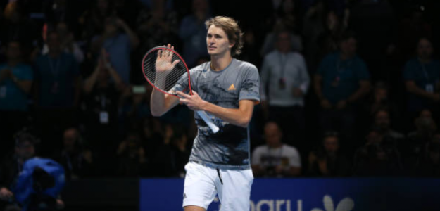 Alexander Zverev, semifinalista en Nitto ATP Finals 2019. Foto: gettyimages