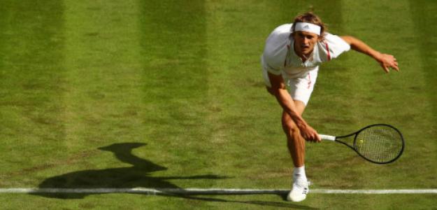 Alexander Zverev en Wimbledon 2019. Foto: gettyimages