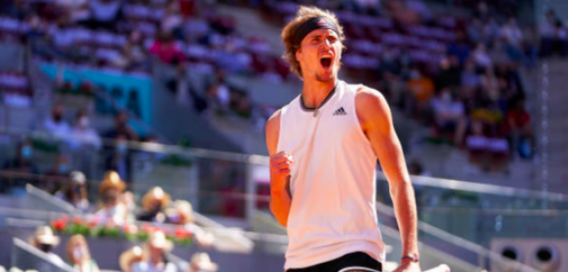 Alexander Zverev sigue intratable en Madrid. Fuente: Getty