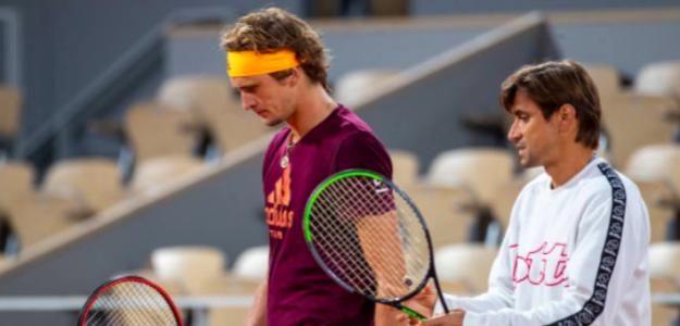 Alexander Zverev y David Ferrer ponen fin a su relación profesional. Fuente: Getty