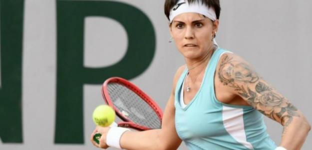 Aliona Bolsova está viviendo un sueño en Roland Garros. Foto: Getty