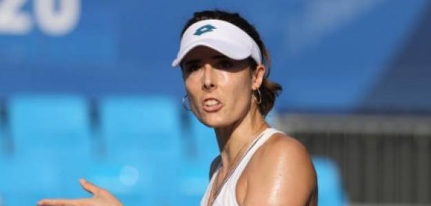 Alize Cornet habla sobre la salud mental de los tenistas. Foto: Getty
