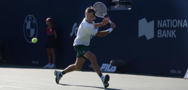 Daniil Medvedev, uno de los campeones de Masters 1000. Foto: gettyimages