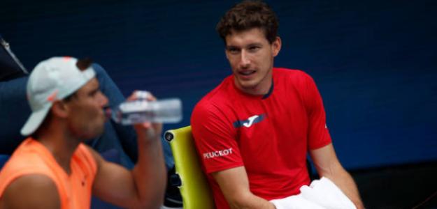 Pablo Carreño buscará derrotar por primera vez en su carrera a Rafa Nadal. Fuente: Getty