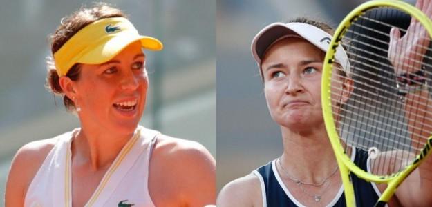 Anastasia Pavlyuchenkova y Barbora Krejcikova, análisis final Roland Garros 2021. Foto: gettyimages