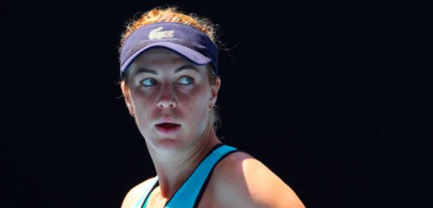 Anastasia Pavlyuchenkova durante el Open de Australia. Fuente: Getty