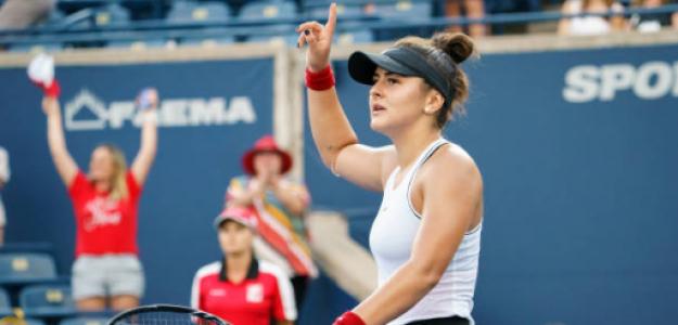 Bianca Andreescu. Fuente: Getty