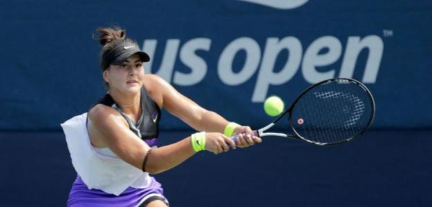 Bianca Andreescu en US Open. Foto: Getty Images