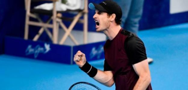 Andy Murray consiguió levantar un título esta temporada, en Amberes. Foto: Getty