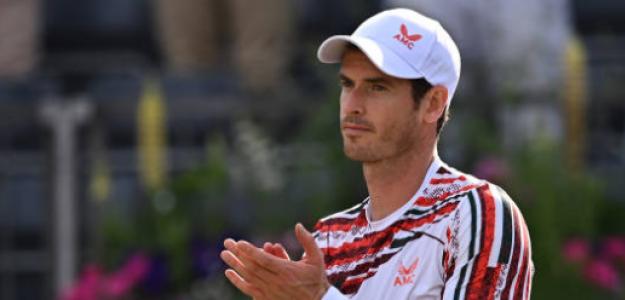 Murray volvió a ganar un partido en hierba después de tres años. Foto: Getty