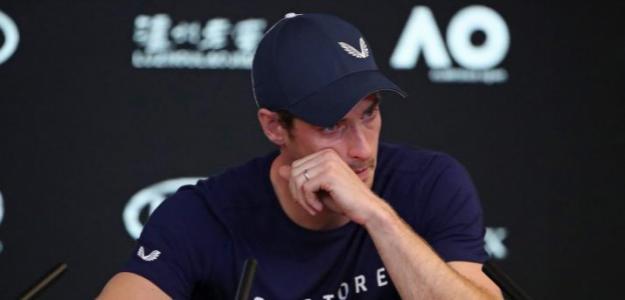 Andy Murray anunció su retirada en este 2019. Foto: Getty