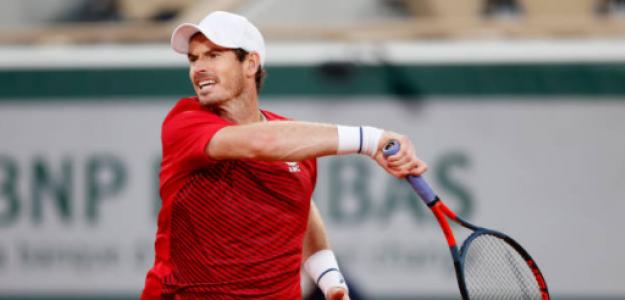 Andy Murray valora su paso por Roland Garros 2020. Foto: gettyimages