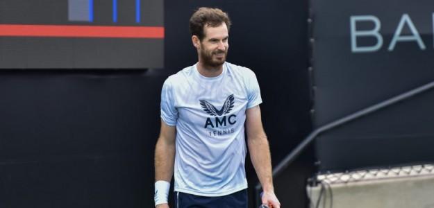Andy Murray habla sensaciones en San Diego. Foto: Matt Fitzgerald, Tennis.com
