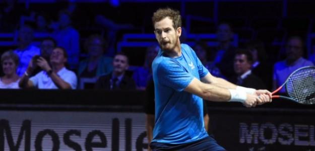 Andy Murray, grandes sensaciones en Metz 2021. Foto: gettyimages