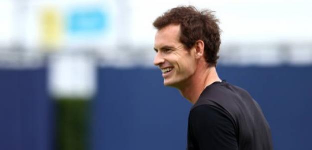 Andy Murray en Queen's. Foto: Getty Images