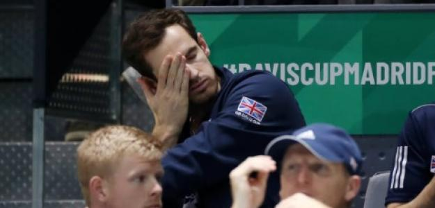 Andy Murray en Copa Davis. Foto: Getty Images
