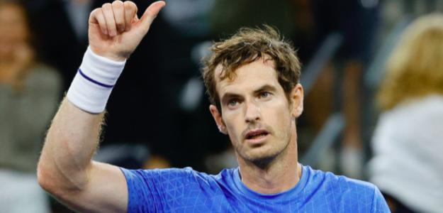 Andy Murray en Indian Wells. Fuente: Getty