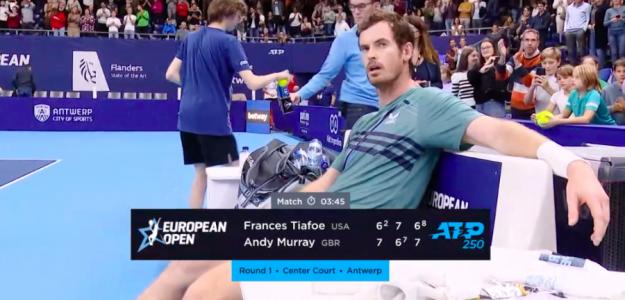 Andy Murray y una victoria inolvidable. Fuente: TennisTV
