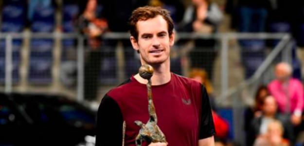 La sonrisa del campeón, Andy Murray. Fuente: Getty