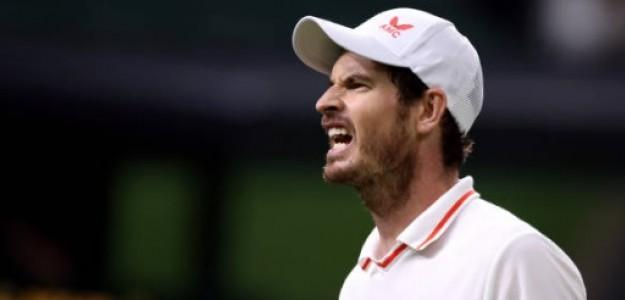 Reverdeciendo viejos laureles Andy Murray en este Wimbledon. Foto: Getty