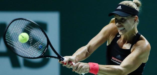 Angelique Kerber en WTA Finals Singapur 2018. Foto: zimbio