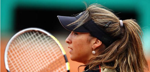 Aravane Rezai en Roland Garros 2010. Fuente: Getty