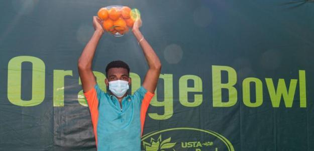 Arthur Fils, campeón Orange Bowl 2020. Foto: tennismajors.com