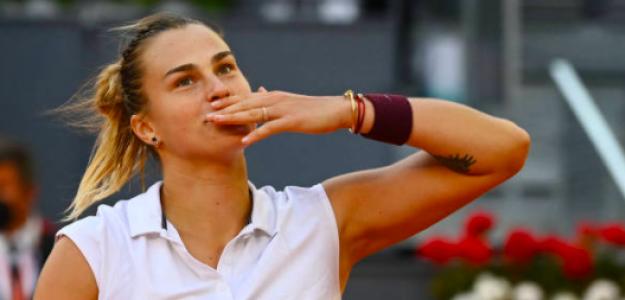 Aryna Sabalenka, campeona en Madrid. Fuente: Getty