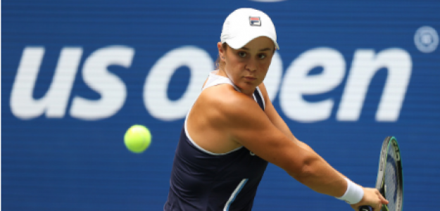 Ashleigh Barty, toma de decisiones en pista en US Open 2021. Foto: gettyimages