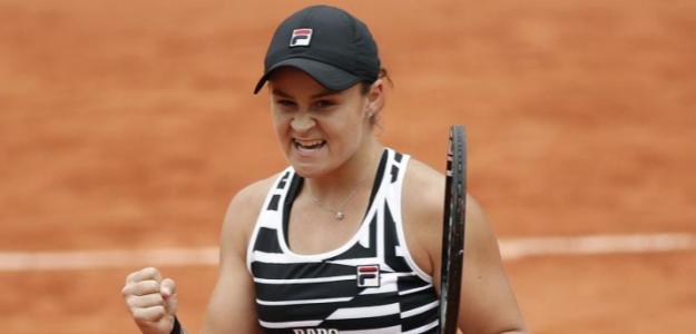 La australiana conquista su primer Grand Slam en París. Foto: Getty